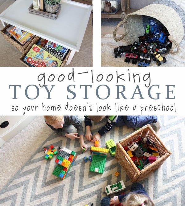 Stylish Toy Storage Ideas | Hometalk
