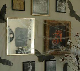 inexpensive diy halloween gallery wall with diy spooky mirror halloween decorations repurposing upcycling & Inexpensive DIY Halloween Gallery Wall With DIY Spooky Mirror | Hometalk