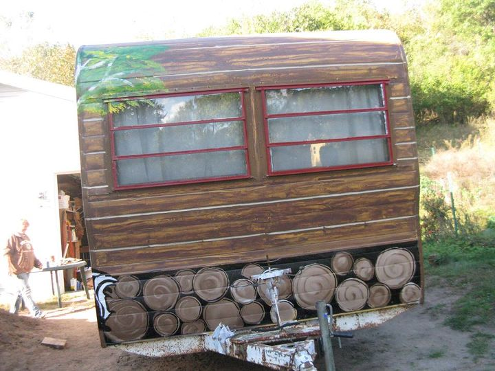 cabin in an enchanted forest, diy, outdoor living, repurposing upcycling