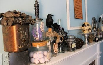 Witch Spells and Potion Decor