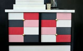 bring a 1950 s chest into the 21st century, painted furniture