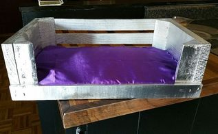 quick small dog bed, painted furniture, pets animals, repurposing upcycling, woodworking projects