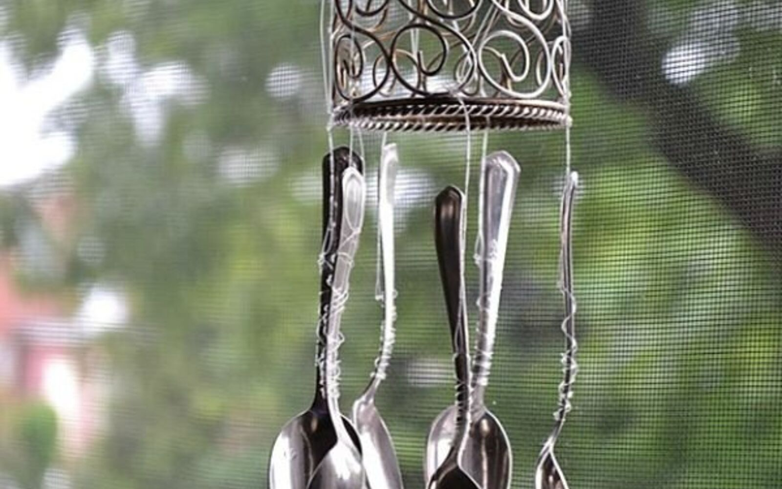 s 11 upcycles so simple you ll wonder why you ve never thought of them, crafts, repurposing upcycling, Repurpose a Set of Flatware as a Wind Chime