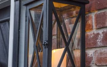 faux gas lanterns, curb appeal, lighting, patio, porches