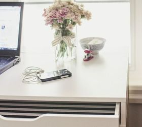 Kate Spade Inspired Ikea Desk Home Decor Office Painted Furniture