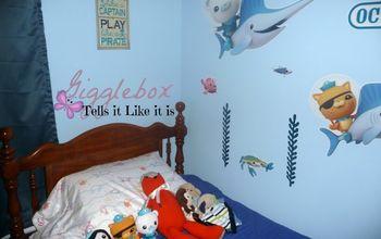 an octonauts big boy bedroom, bedroom ideas, home decor, wall decor