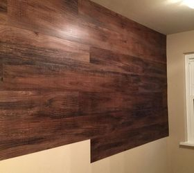 Exceptional Faux Walls Ideas Part - 6: Faux Wood Wall, Bathroom Ideas, Diy, Wall Decor