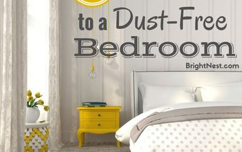 8 secrets to a dust free bedroom, bedroom ideas, cleaning tips