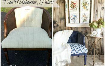 Don't Upholster...Paint!  #FFFC-Geometric Design