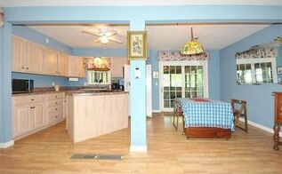 q need ideas for paint color for open kitchen dining living room area, dining room ideas, home decor, kitchen design, living room ideas, paint colors, painting