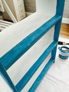 bookcase upcycling a chalk paint shabby chic project, chalk paint, painted furniture, shabby chic