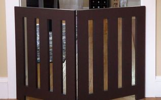 how to make a diy dog gate, diy, how to, painted furniture, pets animals, woodworking projects