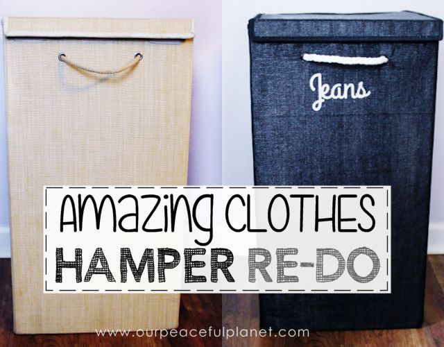 old clothes hamper makeover, bedroom ideas, crafts, organizing, repurposing upcycling