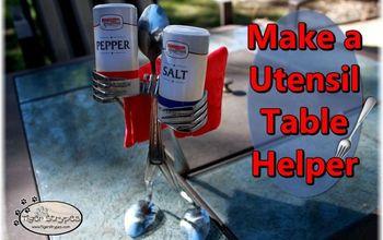 make a utensil table helper, painted furniture