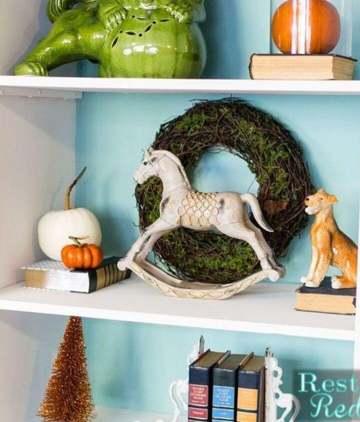 craigslist ivory bookshelf makeover, painted furniture, shelving ideas, storage ideas