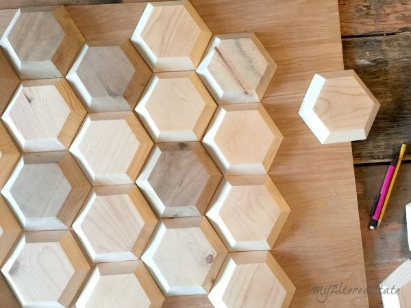 DIY Geometric Wood Wall Decor | Hometalk