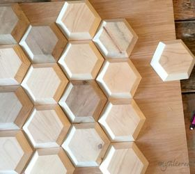 Diy Geometric Wood Wall Decor, Diy, Home Decor, Wall Decor, Woodworking  Projects