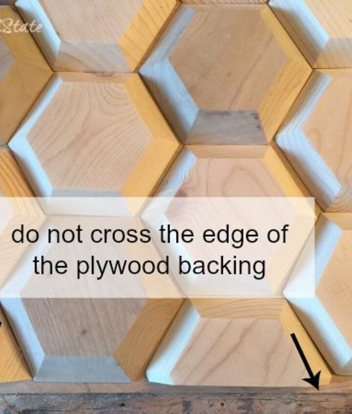 diy geometric wood wall decor, diy, home decor, wall decor, woodworking projects