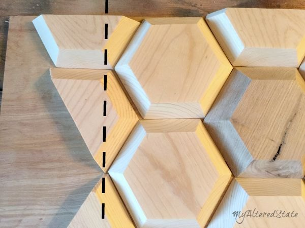 DIY Geometric Wood Wall Decor | Hometalk