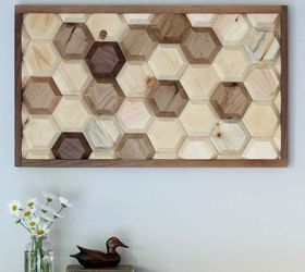 Diy Geometric Wood Wall Decor, Diy, Home Decor, Wall Decor, Woodworking  Projects MyAlteredState