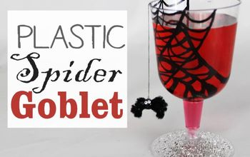Plastic Spider Goblet