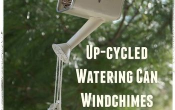 how to make an up cycled watering can wind chime, crafts, home decor, how to, repurposing upcycling, seasonal holiday decor