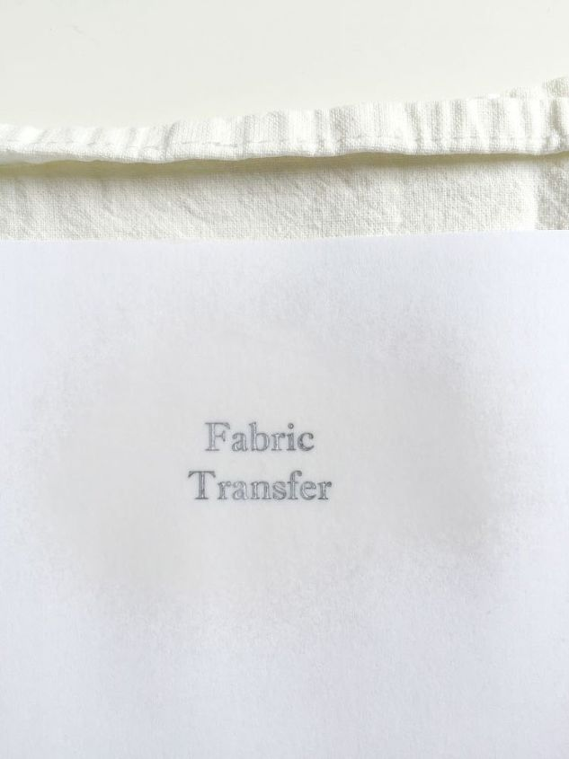how to transfer on fabric in less than 5 minutes, crafts