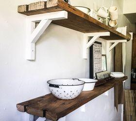 How I Built Reclaimed Wood Shelves, Dining Room Ideas, Diy, Repurposing  Upcycling,
