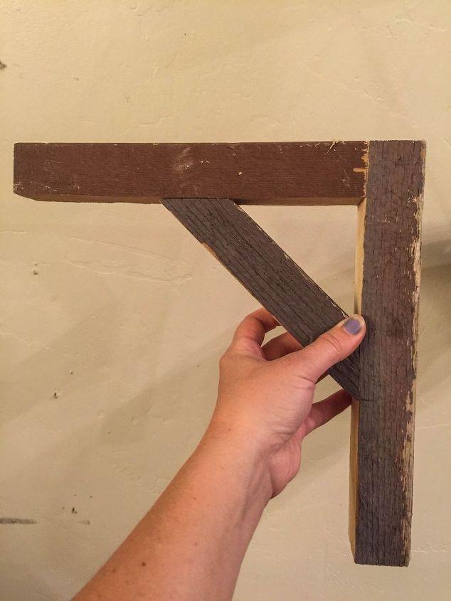 How I Built Reclaimed Wood Shelves | Hometalk