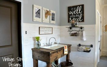 How To Make A Rustic Sink Base