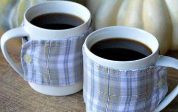 diy cup cozy, crafts