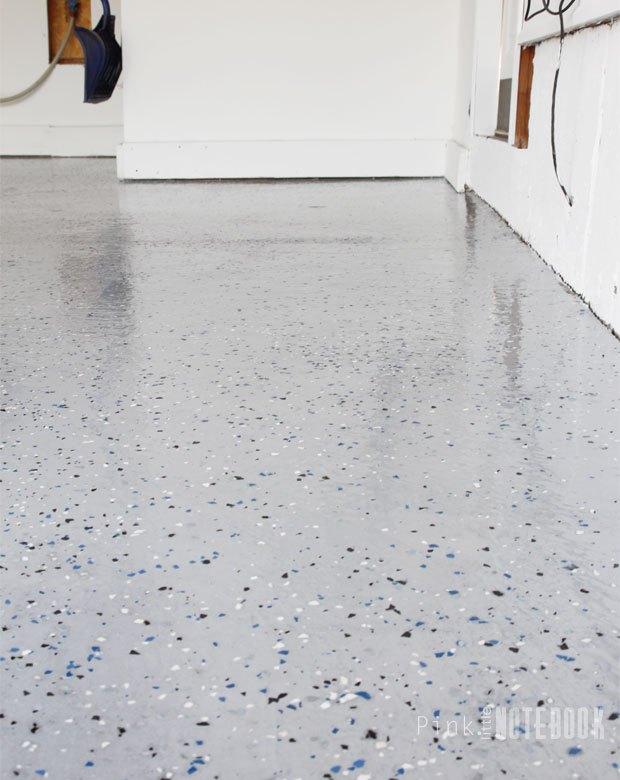 Diy Garage Floor Tutorial Rocksolid Polycuramine Flooring Garages How To