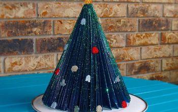 retro christmas tree star wars version, crafts, repurposing upcycling, seasonal holiday decor
