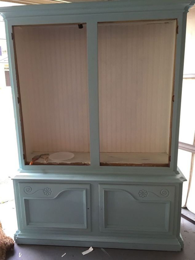 Dining Room China Cabinet Makeover | Hometalk