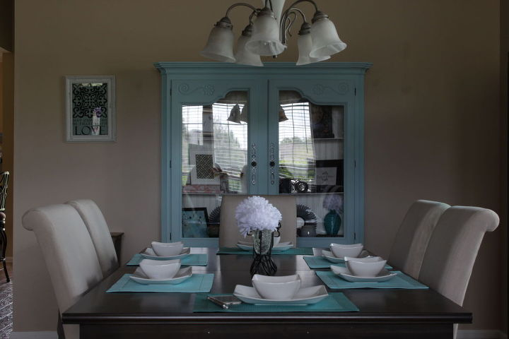 Dining Room China Cabinet Makeover