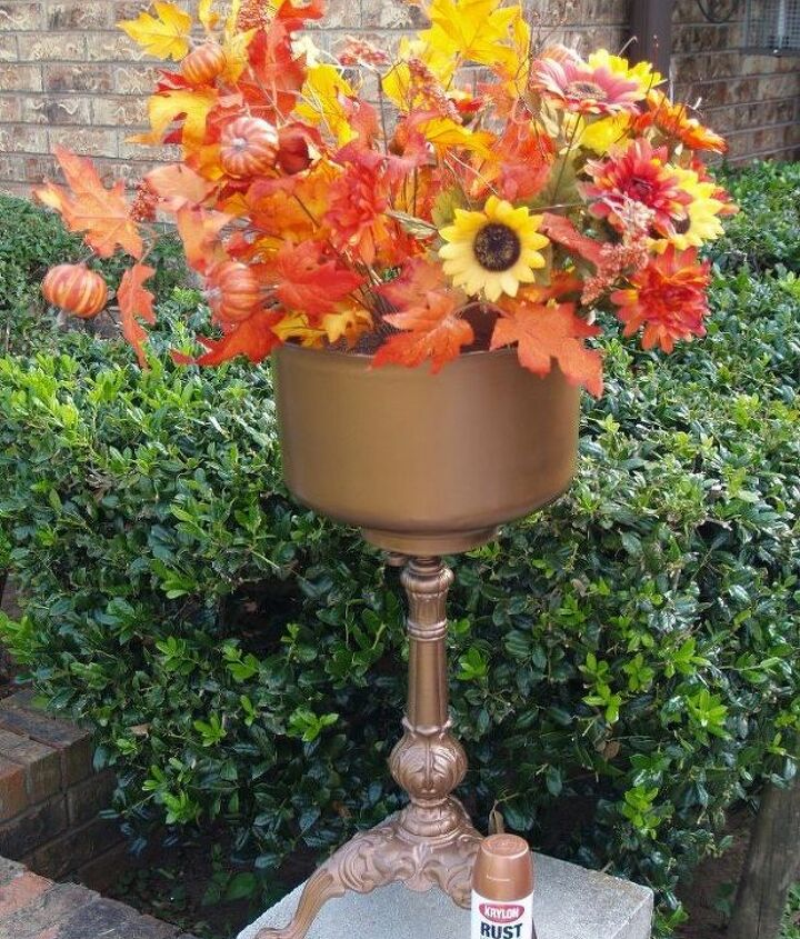 curbside cast off to front porch beauty, container gardening