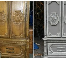 Incroyable French Country Dreamy Armoire, Chalk Paint, Painted Furniture