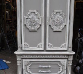 French Country Dreamy Armoire