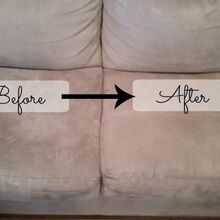 how to clean a microfiber couch quick easy, cleaning tips, how to