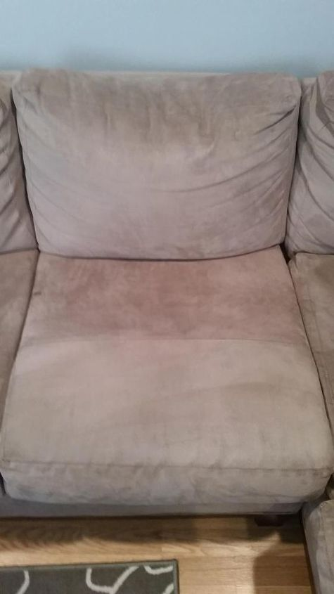 how to clean a microfiber couch quick easy hometalk. Black Bedroom Furniture Sets. Home Design Ideas