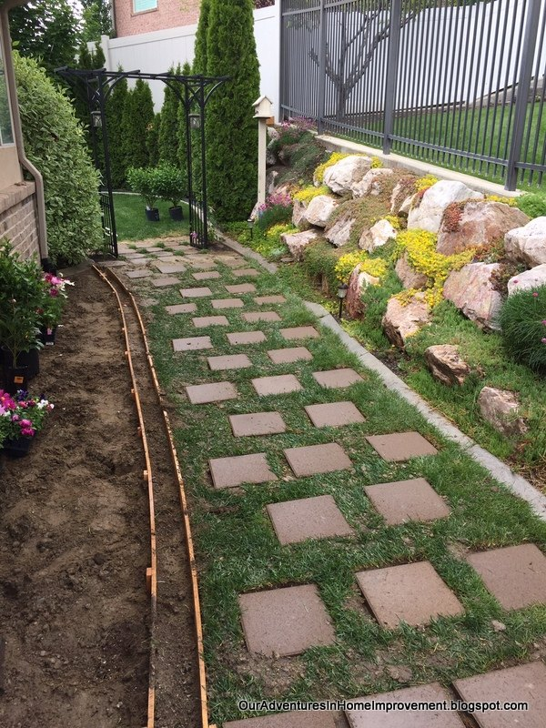 creating a welcoming entrance to the backyard, concrete masonry, fences, gardening, landscape, lawn care, outdoor living