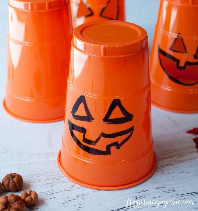 thrifty three minute halloween pumpkin luminaries, halloween decorations, seasonal holiday decor