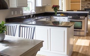 adding value to your kitchen on a budget, home improvement, how to, kitchen cabinets, kitchen design, kitchen island, Our kitchen after our budget remodel