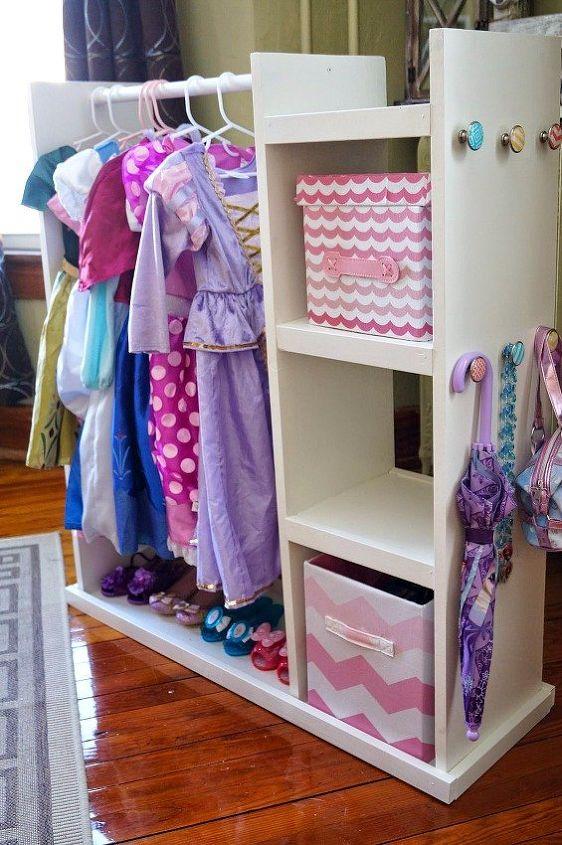 Diy Dress Up Storage Center Painted Furniture Repurposing Upcycling Ideas