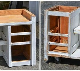 Charming This End Up Desk Turn Kitchen Island, Kitchen Design, Painted Furniture,  Repurposing Upcycling