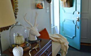 nature inspired fall living room, home decor, living room ideas, seasonal holiday decor