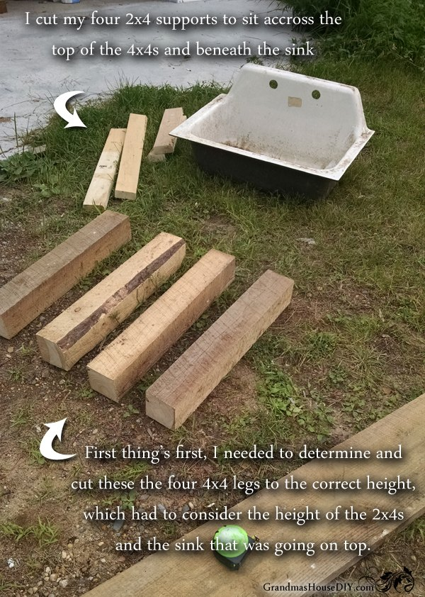 How To Build Your Own Kitchen Sink Base Hometalk