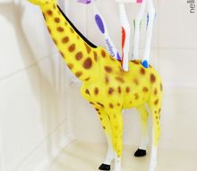 diy toy toothbrush holder, bathroom ideas, wall decor