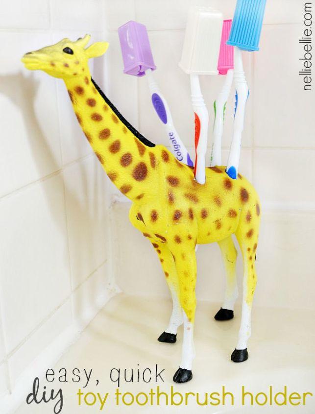 DIY Toy Toothbrush Holder   Hometalk
