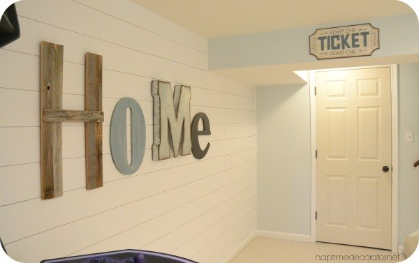a dramatic basement makeover the reveal, basement ideas, diy, home decor, painting, wall decor